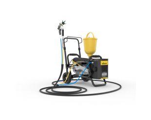 WAGNER SuperFinish 23 plus Aircoat Spraypack met AB100 compressor op wagen