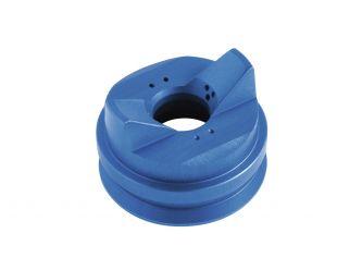 Chapeau d'air bleu pour peintures en phase aqueuse, écrou de serrage fourni