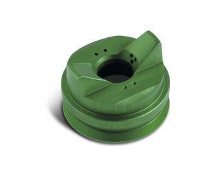 Chapeau d'air vert pour peintures en phase aqueuse et solvantées, écrou de serrage fourni
