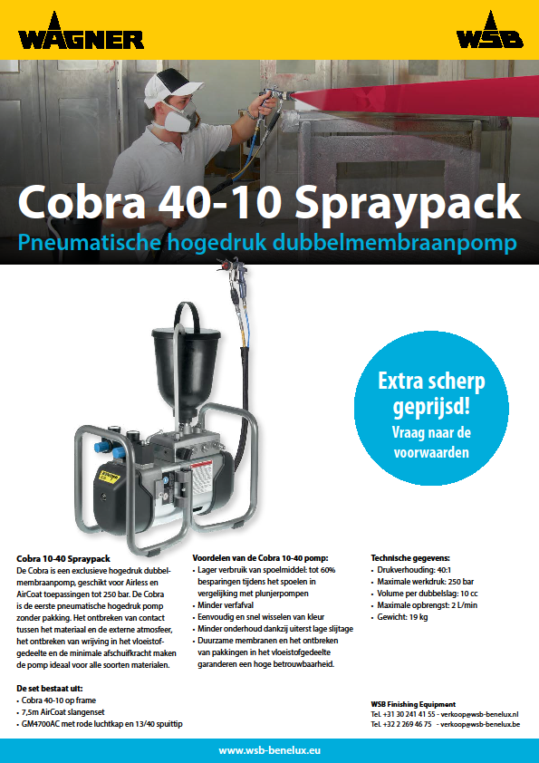 Cobra 40-10 Spraypack