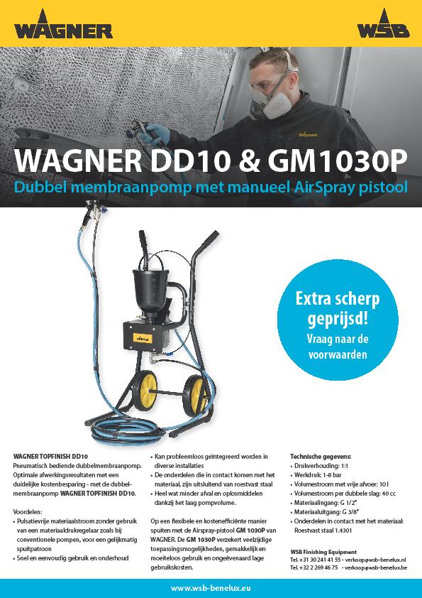 WAGNER DD10 met GM1030P