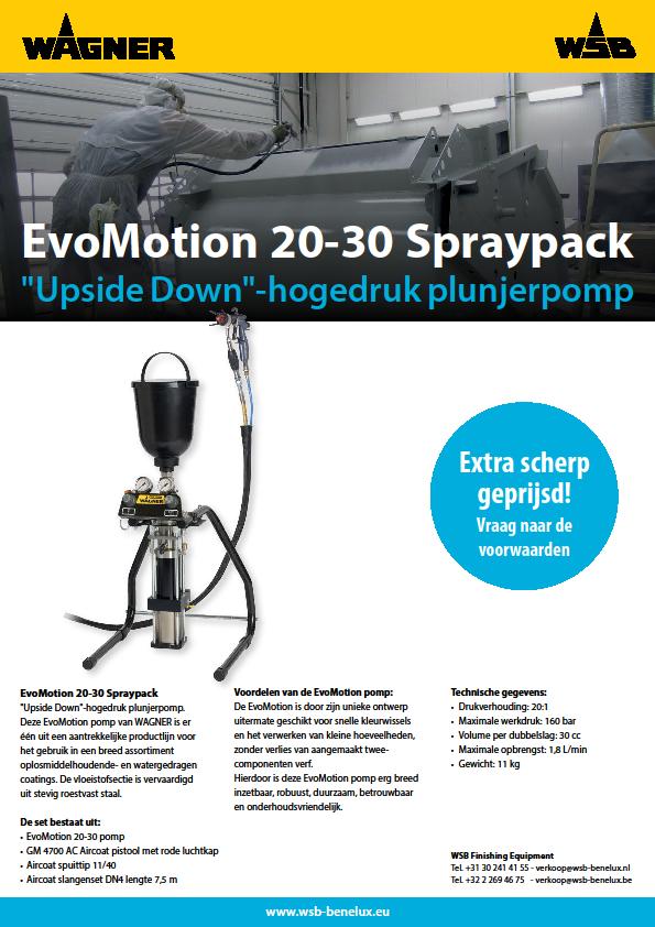 EvoMotion 20-30 Spraypack