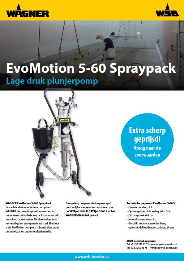 EvoMotion 5-60 Spraypack