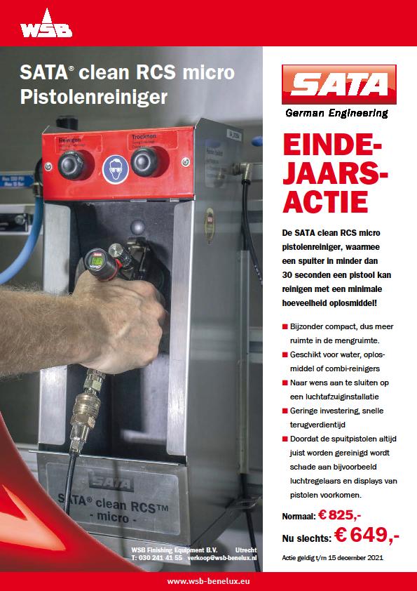 SATA clean RCS micro Pistolenreiniger