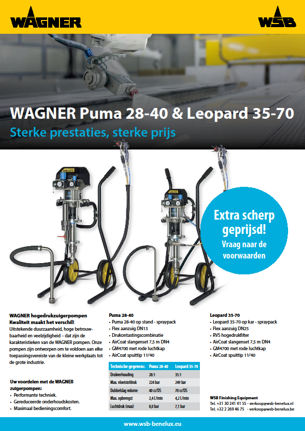 WAGNER Puma 28-40 & Leopard 35-70