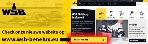 De nieuwe website van WSB: Informatie over alle merken en producten, maar ook snel de garantietermijn verlengen.