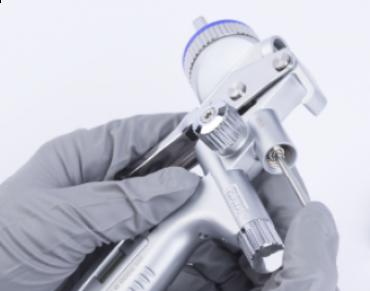 PRAKTISCHE TIP: De SATA nozzleset vervangen